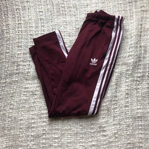 Adidas button down pants
